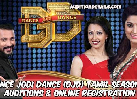 Dance Jodi Dance (DJD) Tamil Season 2 – Auditions & Online Registration 2018