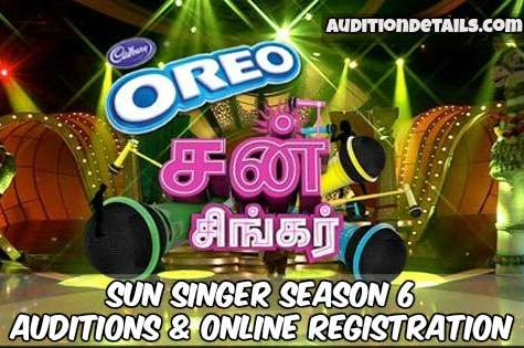 Sun Singer Season 6 – Auditions & Online Registration 2018