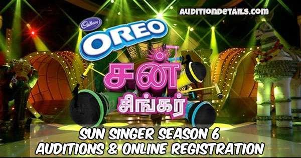 Sun Singer Season 6 – Auditions & Online Registration 2018