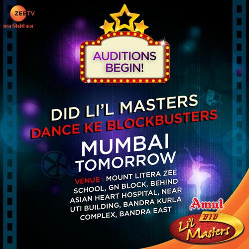 Dance India Dance Little Masters Season 4 Mumbai Auditions