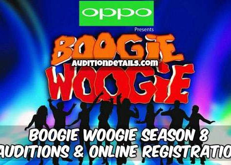 Boogie Woogie Season 8 – Auditions & Online Registration 2018