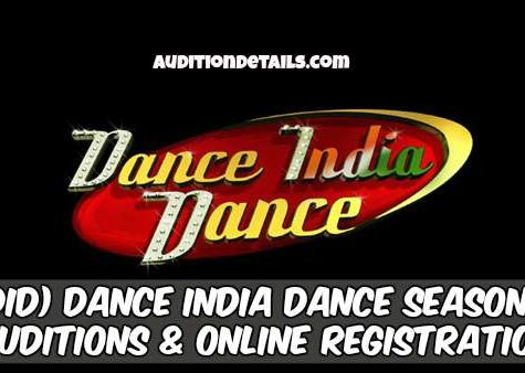 (DID) Dance India Dance Season 7 - Auditions & Online Registration 2018