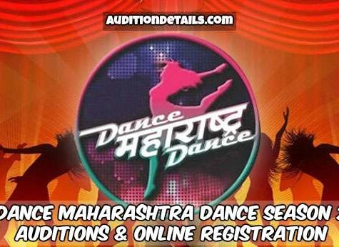 Dance Maharashtra Dance Season 2 - Auditions & Online Registration 2018