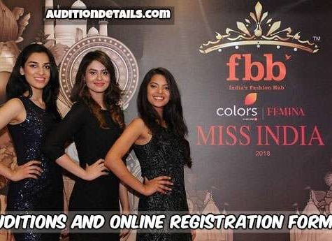 (FBB) Femina Miss India 2018 - Auditions and Online Registration Form