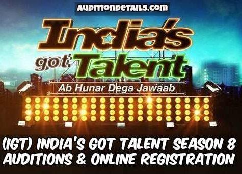 India's Got Talent Season 8 – Auditions & Online Registration 2018