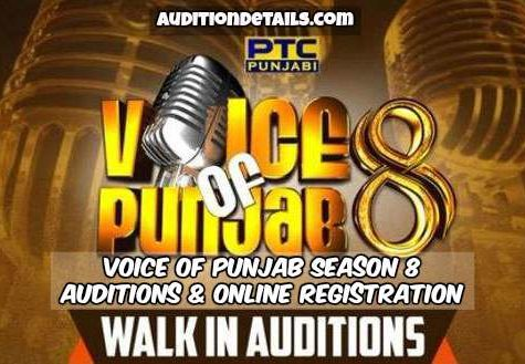 Voice of Punjab Season 8 - Auditions & Online Registration 2018