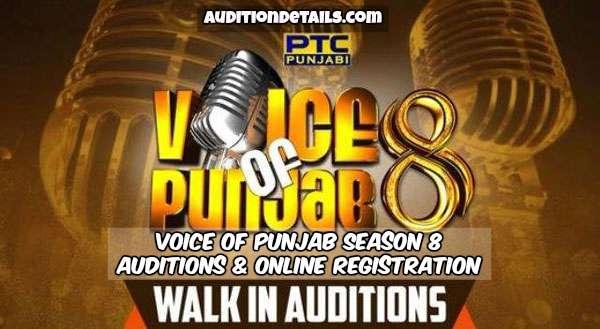 Voice of Punjab Season 8 - Auditions & Online Registration 2018