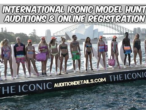 International Iconic Model Hunt 2018 Auditions
