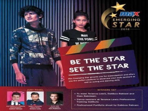 Max Emerging Star 2018 - Online Registration & Auditions