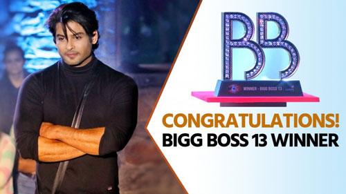 siddharath biggboss 13 winner
