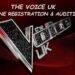 The Voice UK auditions
