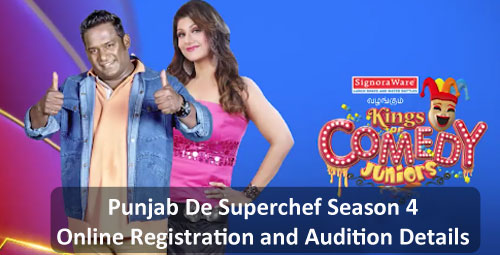 Kings of Comedy Juniors Season 3 - Online Registration and Audition Details