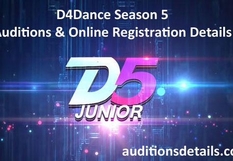 D4Dance Season 5 Auditions