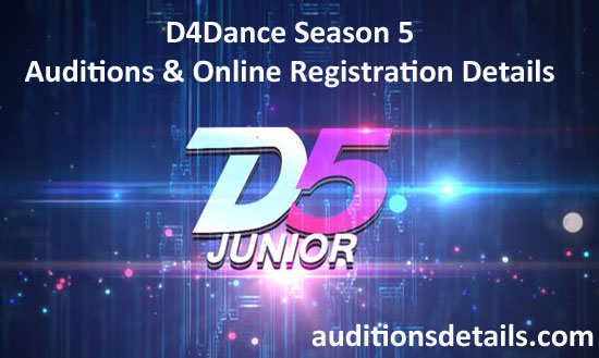 D4Dance Season 5 Auditions