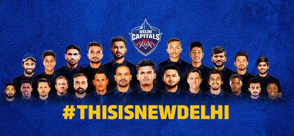 Delhi Capitals Online Booking
