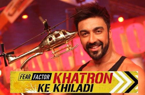 Khatron Ke Khiladi Winner of Season 6 - Aashish Chaudhary