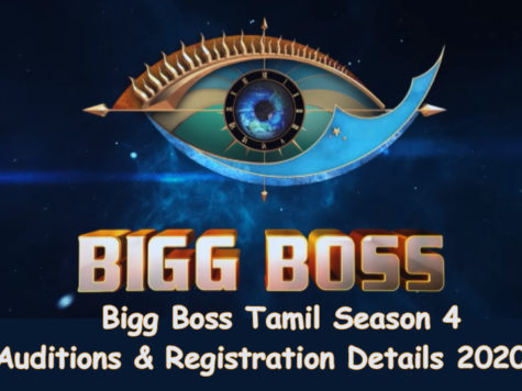 Bigg Boss Tamil Season 4 Registration