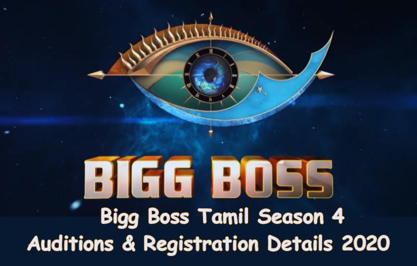 Bigg Boss Tamil Season 4 Registration