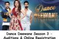 Dance Deewane Season 3 Auditions