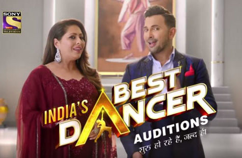 India's Best Dancer Audition
