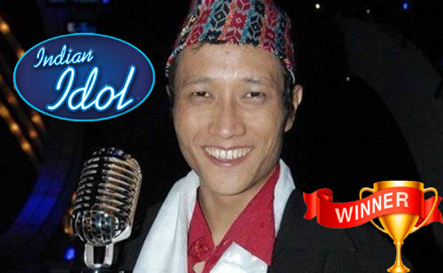 Prashant Tamang- Indian Idol Winner of Season 3