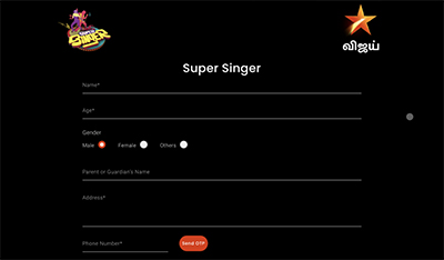 super singer season 8 registration