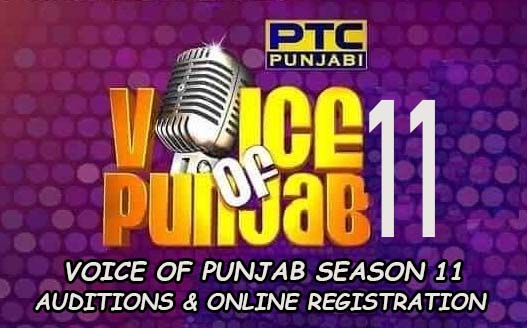 voice of punjab season 11 auditions