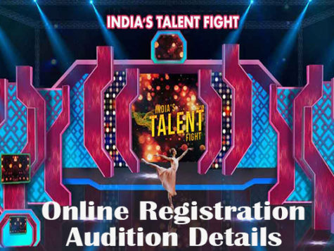 Indias Talent Fight 2020 registration