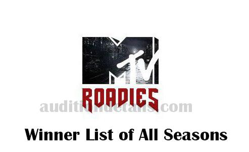 MTV roadies winners list