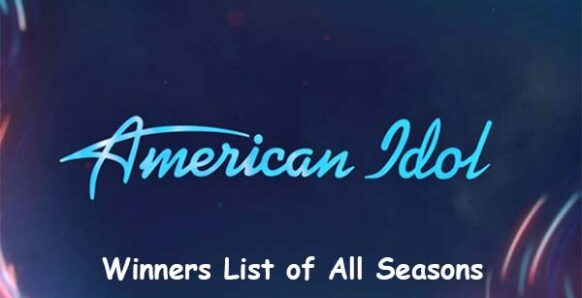 american idol winners list