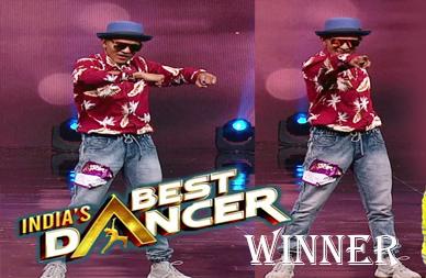india best dancer tiger pop