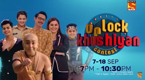 sony sab unlock khushiyaan contest