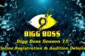bigg boss season 15 auditions