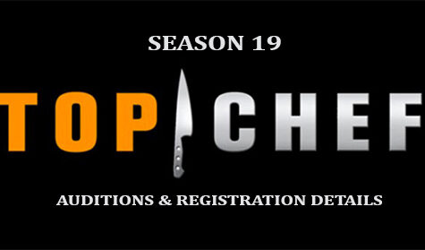 Top Chef 2021 auditions