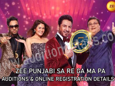 ZEE punjabi sa re ga ma pa auditions