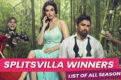 MTV Splitsvilla winners list